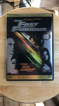 The Fast and the Furious DVD Movie Laurel