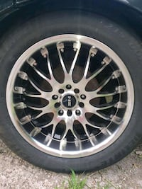 Rims and tires (car not for sale) Dearborn