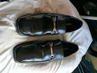 pair of black leather loafers Fredericksburg, 22407