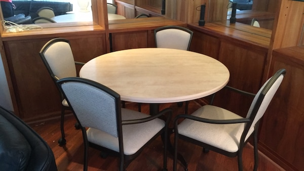 24 X 24 Coffee Table.Dinner Table W 4 Chairs 42 Coffee Table 48 X 24 Side Table 24 X 28 X 24