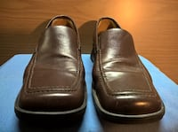 """""""Mootsies-Tootsies"""" Genuine Leather brown color Loafers. Size 9M. 1"""" heels"""