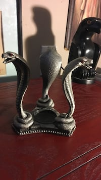 5 inch tall cobra candle holder