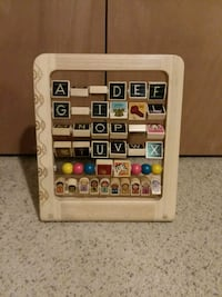Wooden ABC abacus  Pittsburgh, 15243