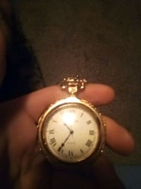 Beutiful old Gold pocket watch asking 30 obo unitron quarts