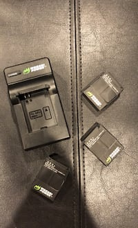 GoPro Batteries + Charger