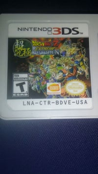 Dragon ball z extreme butuden for the 3ds Fresno, 93705