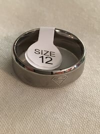 Men's Fashion Ring Sz12 Lowell, 28098