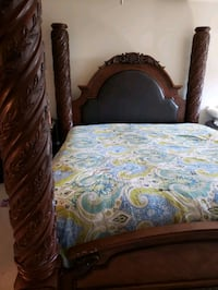 North shore king posted bed with canopy  Hanover, 21076