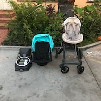 baby's black and teal travel system Inglewood, 90304