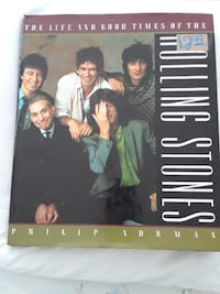 Rolling Stones Hard Cover Book  TORONTO