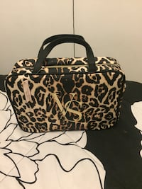 black and brown leopard print tote bag New York, 11385