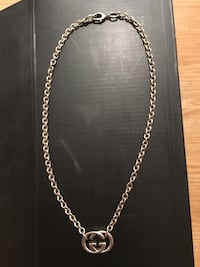 Gucci sterling silver GG Britt necklace Toronto, M2K 2S5