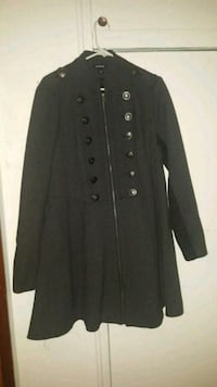 Torrid (size 1) military style zippered coat St. Louis, 63123