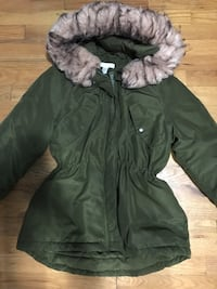 black and gray parka jacket Burnaby, V5E 1A1
