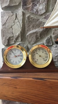 Chelsea Barometer and Clock Set. Perfect condition. Landenberg, 19350