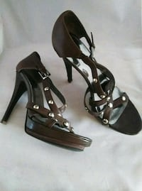 Sexy Brown Heels Dalzell, 29040