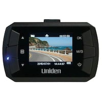 """Uniden DC1, 1080p Full HD Dash Cam, 1.5"""" LCD, G-sensor with collision detection, loop recording, 140-degree wide angle l"""