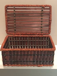 """GREAT PRICE! Small storage chest. 9"""" wide X 6"""" length"""