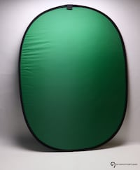 portable green screen for photo & video / GTAPhotoStudio . com Toronto