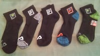 five pairs of assorted color socks Metairie, 70005