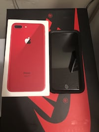 PRODUCT RED iPhone 8 Plus med lådan 6645 km