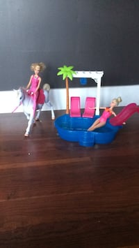 Barbie pool and horse Central Okanagan