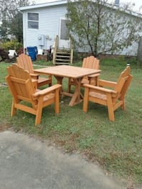 brown wooden dining table set Fayetteville, 28314