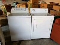 white washer and dryer set Irving, 75063