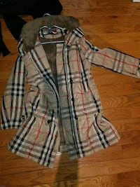 Medium/Large Plaid Print Winter Jacket Toronto, M2J 2W3