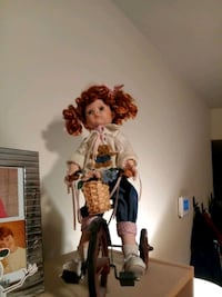 Porcelain doll on a tricycle Oklahoma City, 73170