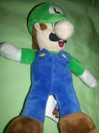 SUPER MARIO BROTHERS PLUSH TOY-VINTAGE Irving, 75062