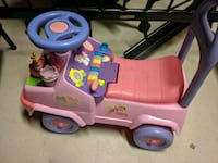 Disney princess once upon a time push toy car Vaughan