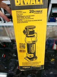 DEWALT20V MAX Lithium-Ion Cordless Drywall Cut-Out Tool (Tool-Only)  Toronto