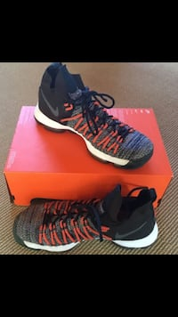Nike KD 9 Elite basketball shoes Size 10.5 M Ashburn