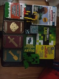 Minecraft set of books and figures Vancouver, V5L 1Z8