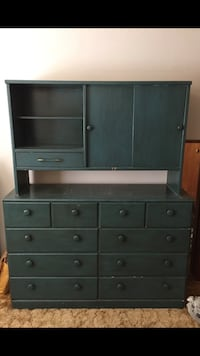 Dresser with Top Hutch and matching Bookcase Newark, 94560
