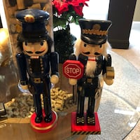 black and gray police nutcrackers Leesburg, 20176