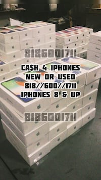 Cash 4 iPhones 8 and up Los Angeles, 91335