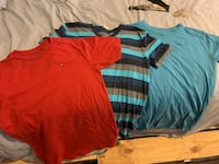 Youth xl Tommy hilfger and holister shirts