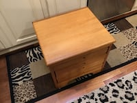 ALL HARDWOOD GAME CHEST WITH 4 DRAWERS ,4 GAMES ALL PIECES INCLUDED  Downers Grove, 60516
