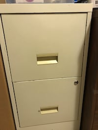 white metal 2-drawer filing cabinet Saskatoon, S7L 2B4