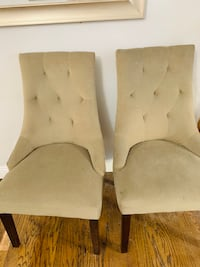 6 Upholstered Dining Chairs