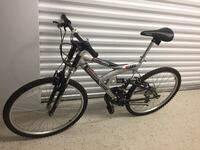 black full-suspension mountain bike New York, 11421