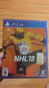 Sony PS4 NHL 17 game case Surrey, V3R 5Y1