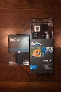 GoPro Hero 3+ Black Edition with Dual battery charger and remote London, N6G 2S5