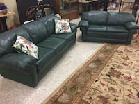 Leather couch and loveseat  Daytona Beach, 32117