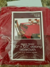 Tablecloth brand new great for Christmas  Manitowoc, 54220