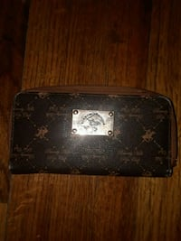 Black and Brown Beverly Hills Polo Club Wallet Milton, 32570