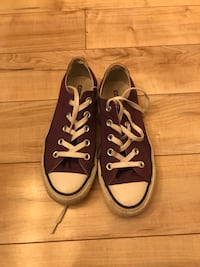 pair of purple Converse All-Star low-tops Bethesda, 20815