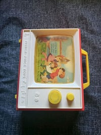 1966 fisher price toys tv